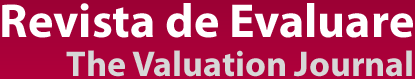 Revista de Evaluare | The Valuation Journal